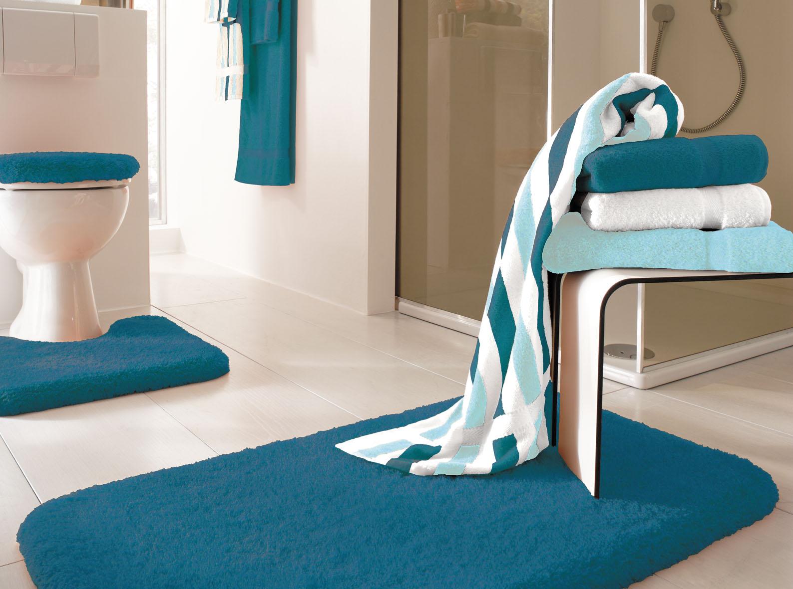 Qualitäts badteppich serie opal in 3 basic farben und 5 größen ...