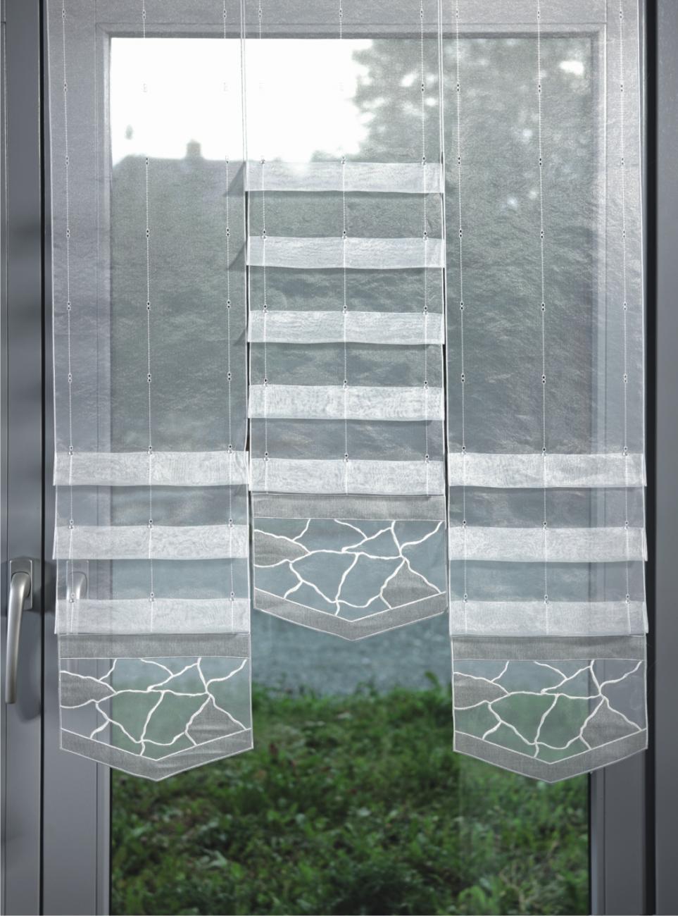 Raffrollo wohnzimmer modern  Fensterbehang / Flächenvorhang / Raffrollo Musical in 4 Farben und ...